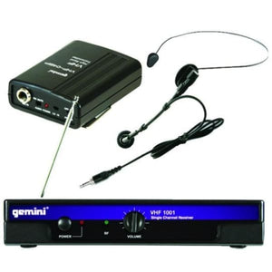 Gemini LAV- Headset VHF Combo Wireless - Microphones
