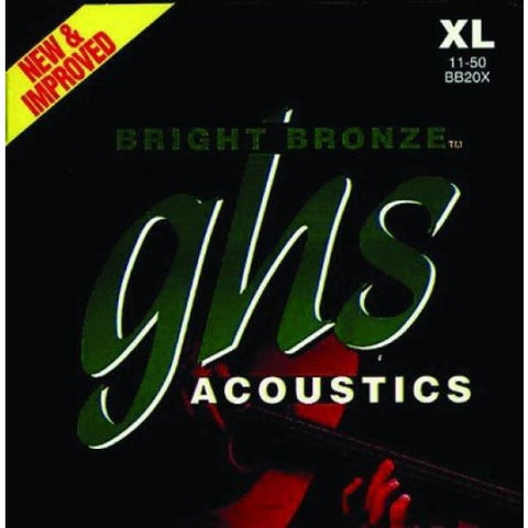 Ghs Acou Gtr Strings Bright Bronze Light - Guitar & Bass