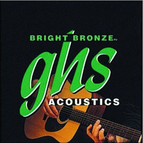 Ghs Acou Gtr Strings Bright Bronze Med - Guitar & Bass