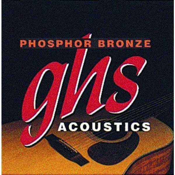 Ghs Acou Gtr Strings Phos Bronze Med - Guitar & Bass