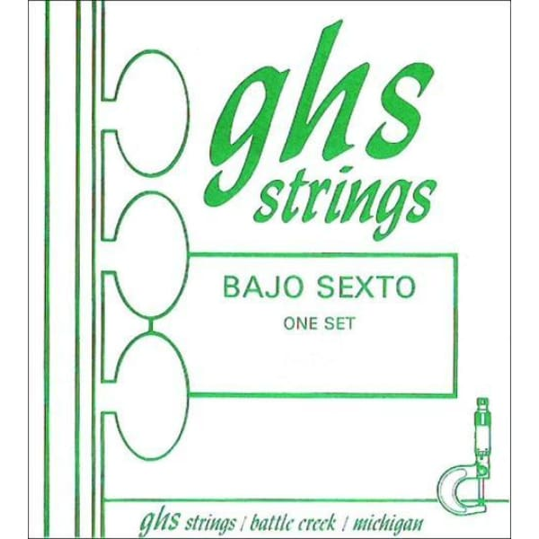 GHS Bajo Sexto 10 String Set - Guitar & Bass