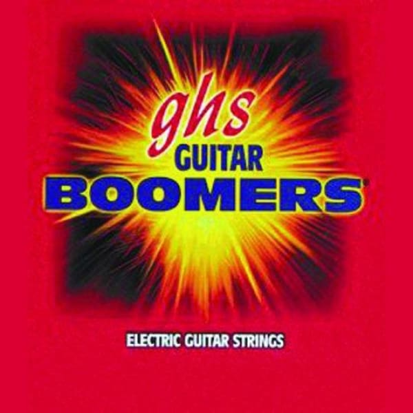 GHS Ele Gtr Strings Boomers Thin Thick - Guitar & Bass