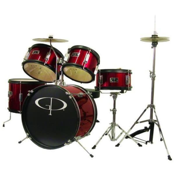 GP Junior Drum Kit Red - Drum & Percussion