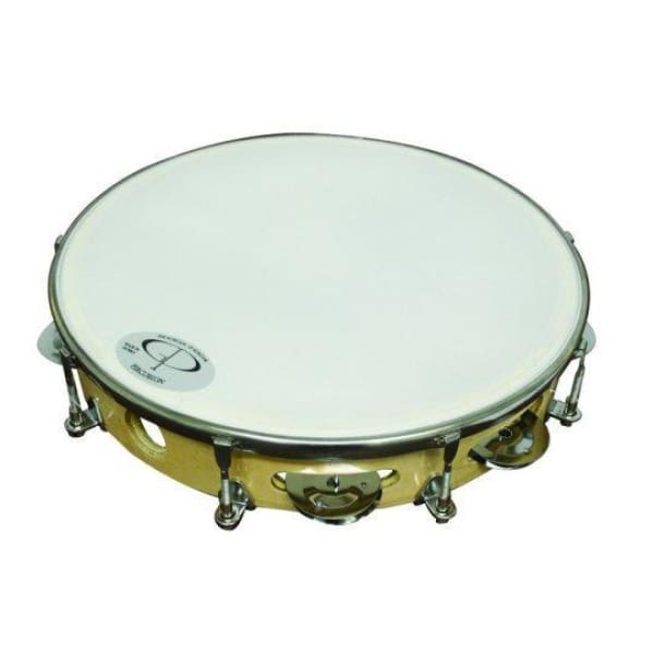 Gp Per 10 In Wood Rim Tunable Tambourine - Drum & Percussion