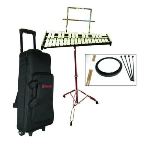 Gp Perc 2.5 Oct Bell Kit W Bag Stand Etc - Drum & Percussion