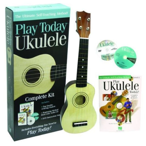 Hal Leonard Play Today Ukulele Kit - World & Folk