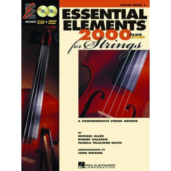 HL Essential Elem Strings Bk w-Weblink - Instruction