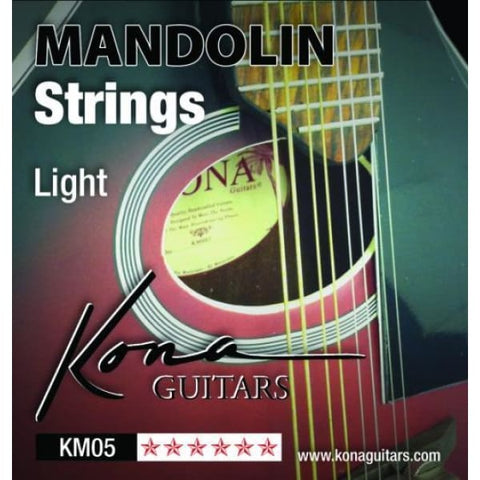 Kona Mandolin Strings Light - World & Folk