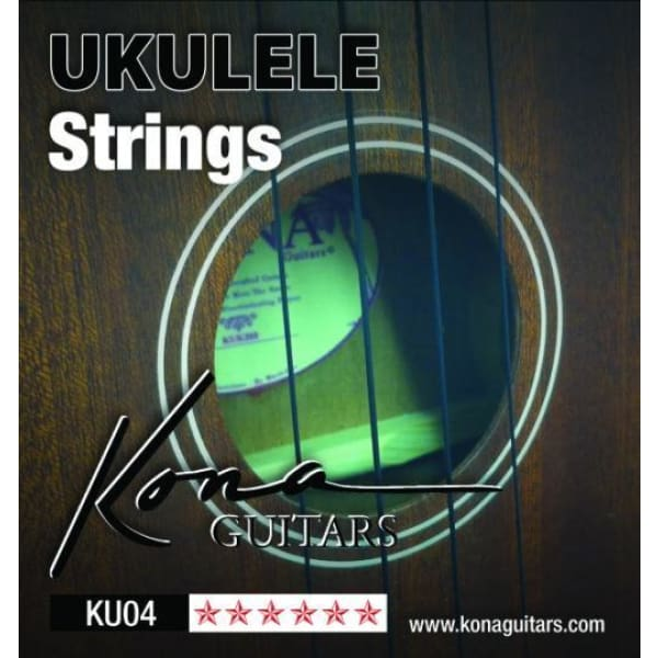Kona Ukulele String Clear Nylon - World & Folk