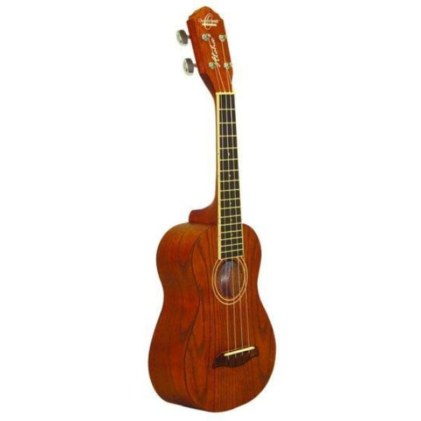 O. Schmidt Tenor Elect Spalted Maple Uke - World & Folk