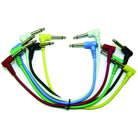 Perfektion Patch Cable 12 6 pack - Guitar & Bass