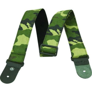 Planet Waves Camouflage Guitar Strap - Guitar & Bass