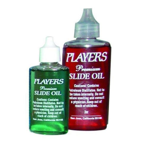 Players Trombone Slide Oil Asstd Colors - Band