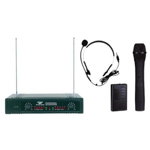 Pyle P Microphone Wireless 2 Ch VHF - Microphones