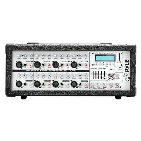 Pyle P Mixer 8 Channel 800w w-MP3 - DJ & Club Gear