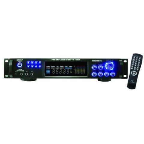 Pyle Pro 3000 DJ Power Amp Am FM Ipod - DJ & Club Gear