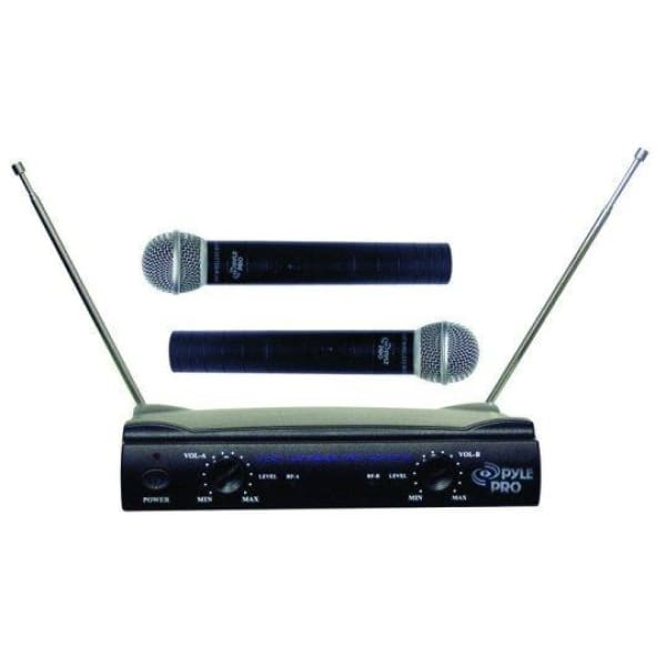 Pyle Pro Dual VHF Mic System - Microphones
