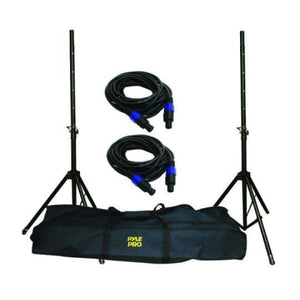 Pyle Pro Speakon Speaker Stand Kit - DJ & Club Gear