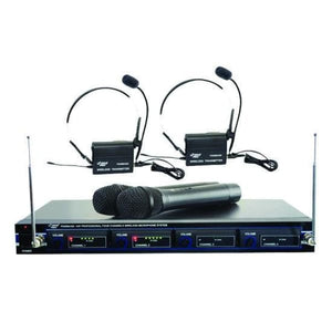 Pyle Pro Wireless 4 Mic System - Microphones