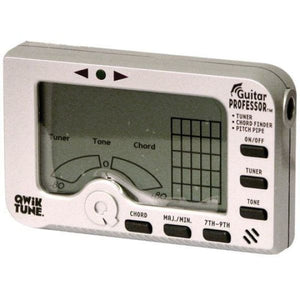 Qwik Tune Tuner Chord Finder Pitch Pipe - Guitar & Bass
