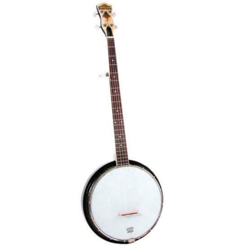 Saga Banjo 16 Brck 11 In Rim Geared 5Th - World & Folk