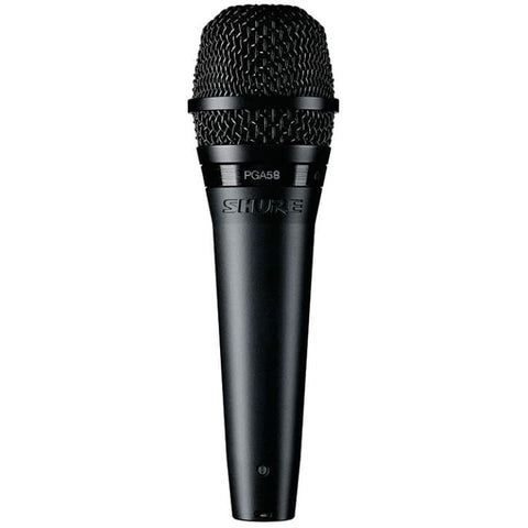 Shure CardioidDynamicVocalMicXLRXLRcable - Microphones