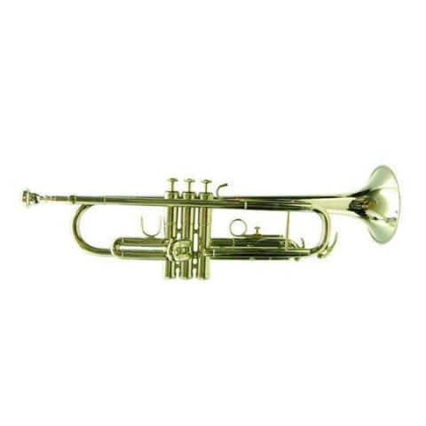 Trumpet B Flat Nickel Finish W-Case - Band