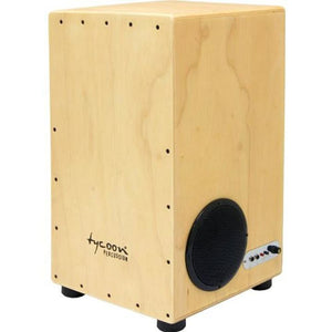 Tycoon 29 Siam Oak Cajon Amplified - Drum & Percussion