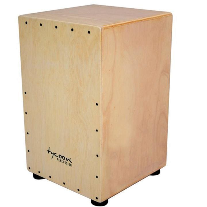Tycoon 29 Siam Oak Cajon Painted Front - Drum & Percussion