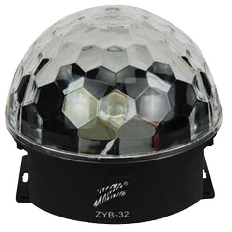 Zebra LED Magic Ball Light - DJ & Club Gear