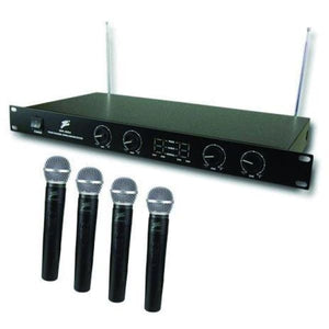 Zebra WIRELESS MICROPHONE 4 CHANNEL - Microphones