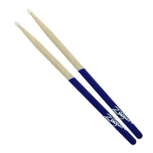 Zild 5A Purple Dip Hickory Sticks Nyl - Drum & Percussion