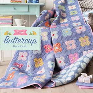 Tilda Buttercup Basic Quilt Kit
