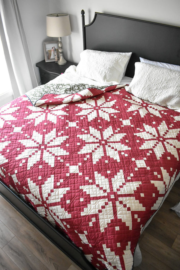 Knitted Star Quilt Kit by Lo & Behold Stitchery - multiple colors available
