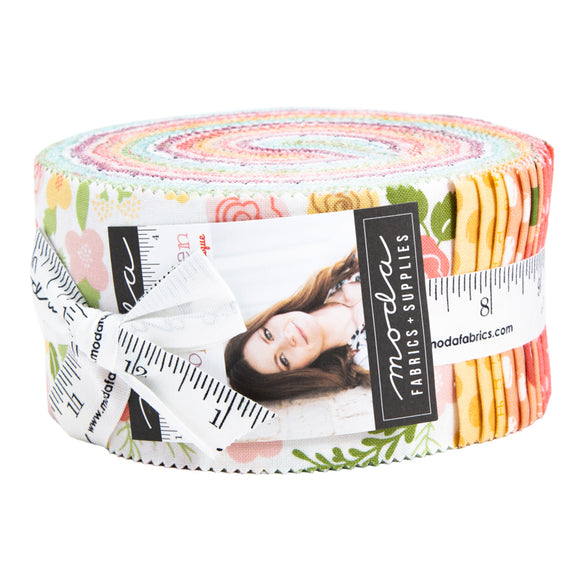 Lollipop Garden Jelly Roll by Lella Boutique for Moda Fabrics
