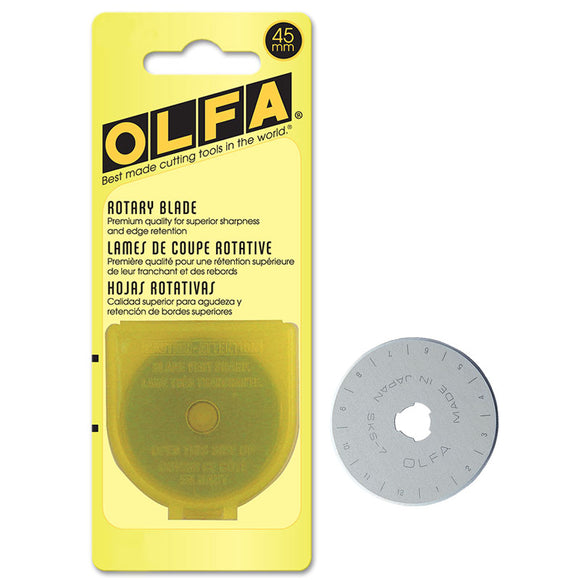 Olfa 45mm Replacement Blade for Olfa Rotary Cutter