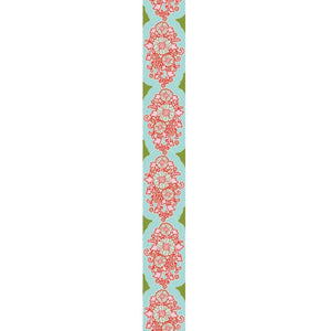 Tilda Sunkiss Jacquard Ribbon Teal 30 mm