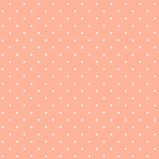 Sweet Shoppe Peach Melba Candy Dot A-9235-O