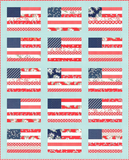 Stars and Stripes Quilt Kit - At Home