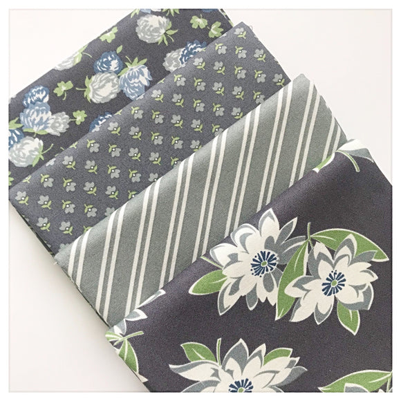At Home Fat Quarter Bundle - Gray