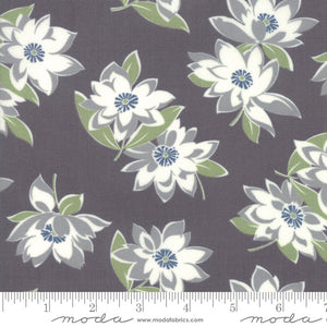 At Home Graphite Sunday Stroll Yardage 55200-23 by Bonnie & Camille