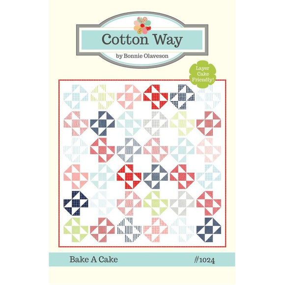 Bake a Cake Pattern by Bonnie Olaveson