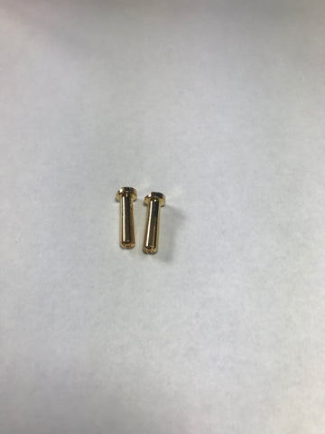 Low Profile 4mm Bullet Connectors(2)