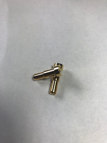 "Low Profile 4mm/5mm ""Stepped"" Bullet Connectors(2)"