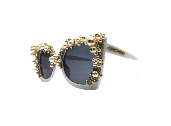 Pearl Fantasy Sunglasses - A Rock on a Lens