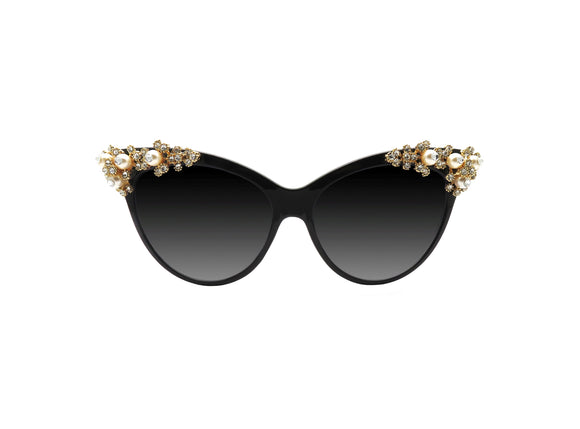 ALLIUM Embellished Sunglasses - A Rock on a Lens