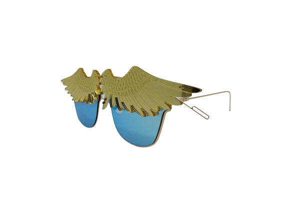 Biolah Hazard Embellished Sunglasses