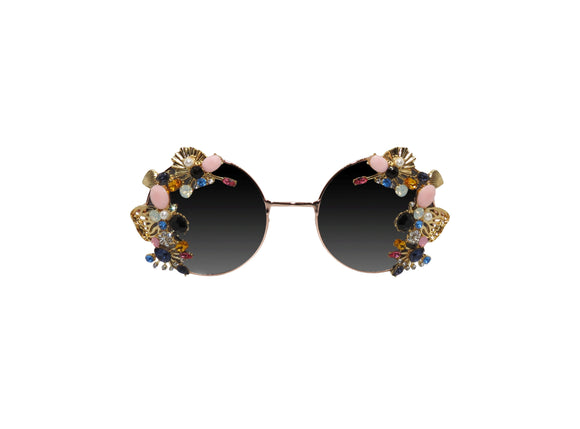 BRIGHTON Embellished Sunglasses