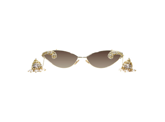 CARA Embellished Sunglasses - A Rock on a Lens