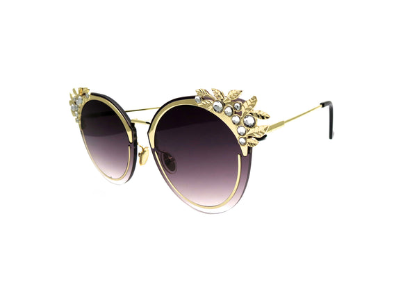 CHAMPAGNE Sunglasses - A Rock on a Lens